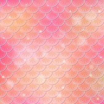 Rybia łuska bezszwowe tło wzór