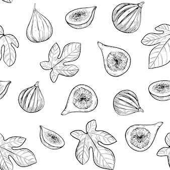 Rys. ilustracja. wzór. ręcznie rysowane szkic