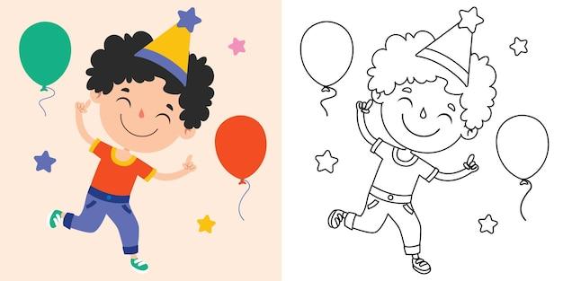 Rysowanie linii dla dzieci, kolorowanki