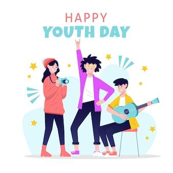 Rysowany dzień młodzieży