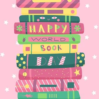 Rysowany światowy dzień książki