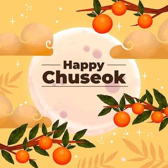 Rysunek festiwalu chuseok