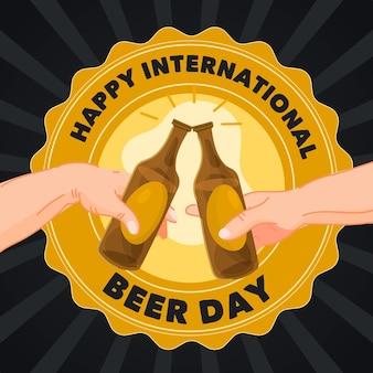 Rysunek międzynarodowego dnia piwa