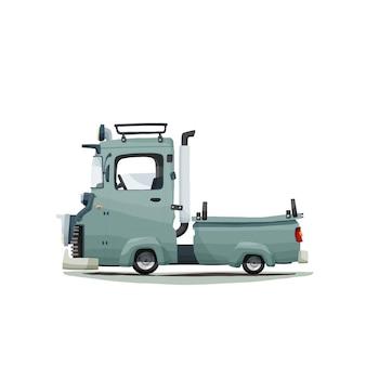 Rysunek odręczny mini truck