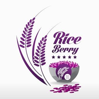 Ryż newgen jagoda 6