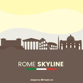 Rzym skyline projekt