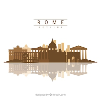 Rzym skyline