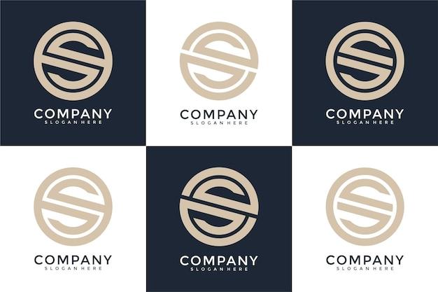 S list logo kolekcja monogram