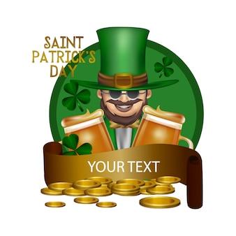 Saint patrick's day tło