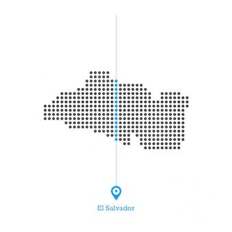 Salwadoru zapałała miłością do mapy