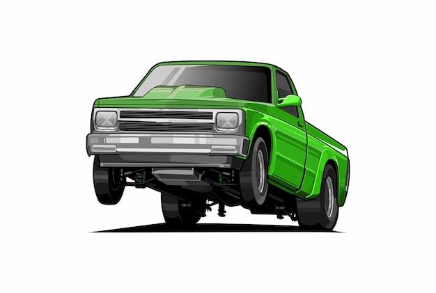 Samochód ciężarowy na kółkach