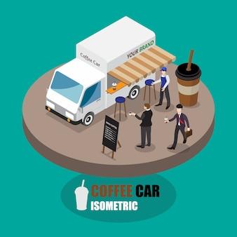 Samochód kawowy