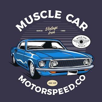 Samochód mięśni