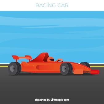 Samochód wyścigowy formuły 1