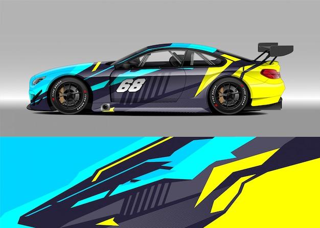 Samochód wyścigowy na rajd