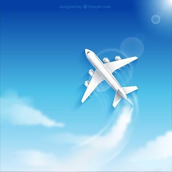 Samolot lecący