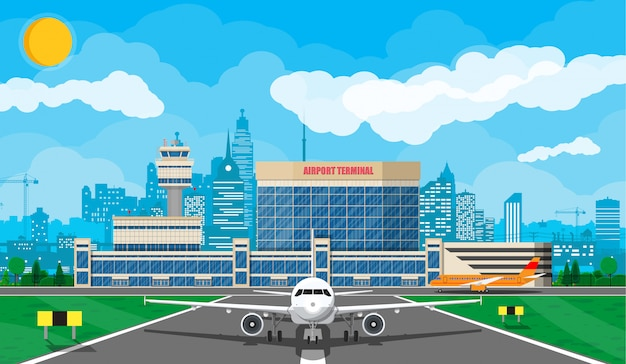 Samolot przed startem