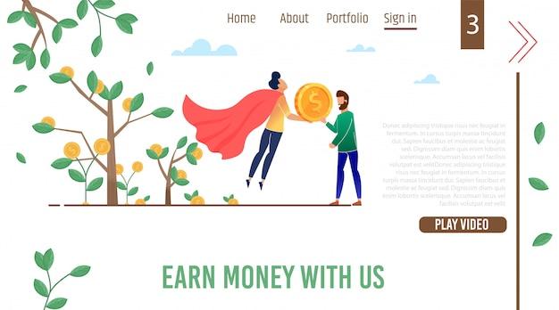 Samouczki wideo nauczanie zarabiaj pieniądze strona docelowa