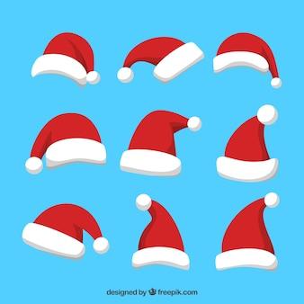 Santa claus kapelusz kolekcji
