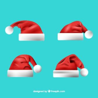 Santa claus kapelusz opakowanie