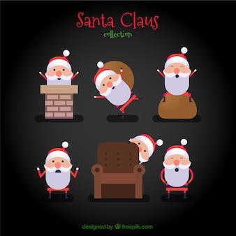 Santa claus kolekcji