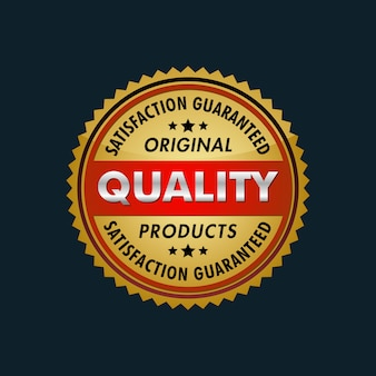 Satysfakcja gwarantowane logo produktów oryginalnych