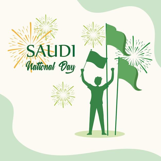 Saudyjski patriotyzm w święto narodowe
