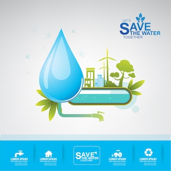 Save the water woda to życie