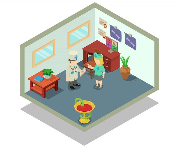 Scena koncepcyjna kliniki
