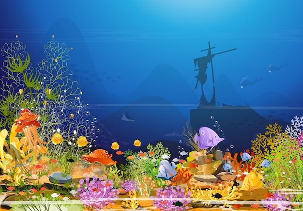 Scena morska
