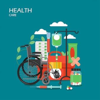 Scena opieki zdrowotnej