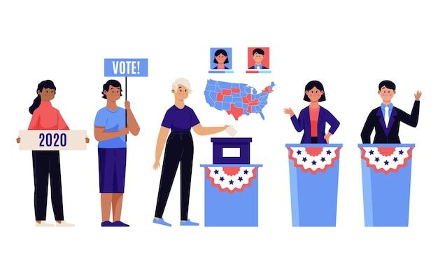 Sceny kampanii wyborczej