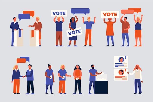 Sceny kampanii wyborczych