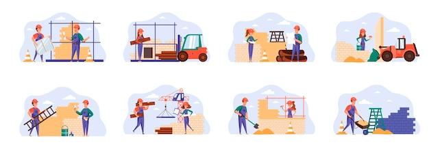 Sceny konstruktorów łączą się z postaciami ludzi