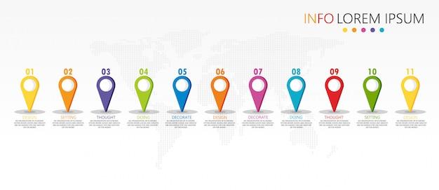 Schemat zastosowany w edukacji i projekt wektorowy wykorzystują ilustrację edukacji biznesowej