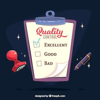 Schowek z dokumentów kontroli jakości