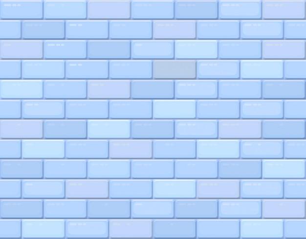 Ściana z cegieł, kamienny bezszwowy geometryczny wzór, betonowa tekstura. wektor