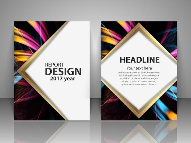 Se szablonu projektu broszury