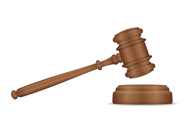 Sędzia młotek i płyta rezonansowa