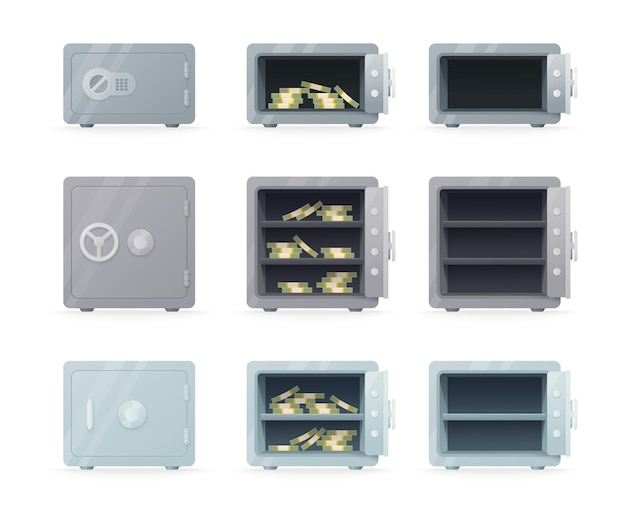 Sejfy stalowe bezpieczne na izolowanych