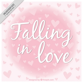 Serca tła miłości frazy
