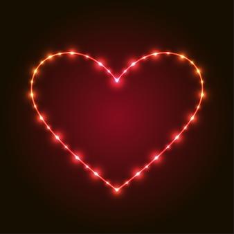 Serce dla miłości ilustracji wektorowych