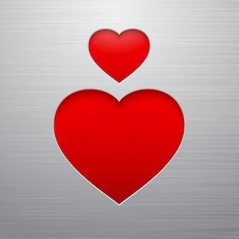 Serce walentynki