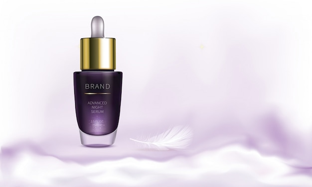 Seria kosmetyków na noc do pielęgnacji skóry twarzy