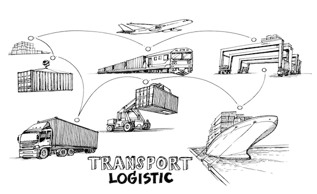 Seria transportu w szkicu