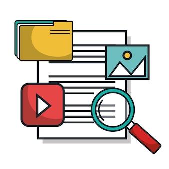 Serwer dokumentów centrum danych izolowany