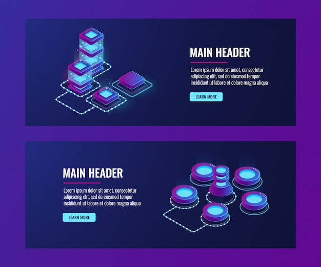 Serwerownia, duża sieć komputerowa, sieć, połączenie, duże przechowywanie i przetwarzanie danych