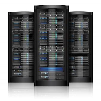 Serwery sieciowe odizolowane