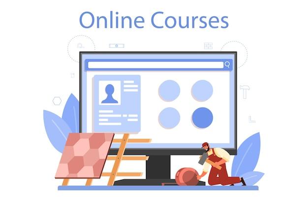 Serwis lub platforma internetowa dla pracowników budowlanych.