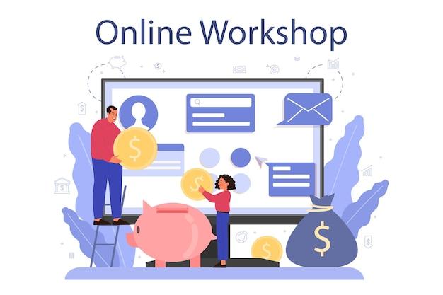 Serwis lub platforma online z przedmiotu ekonomicznego